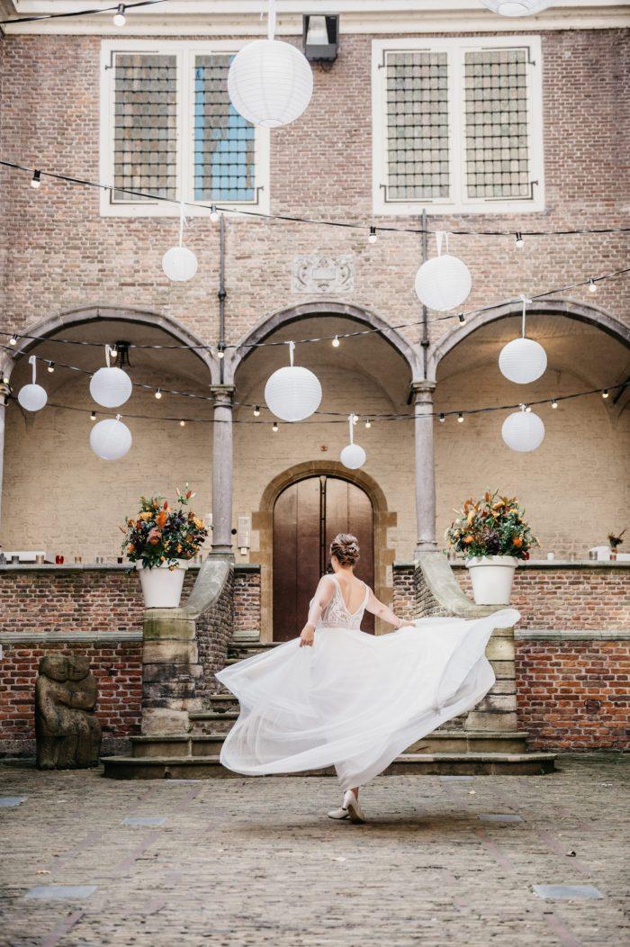 trouwen op een kasteel